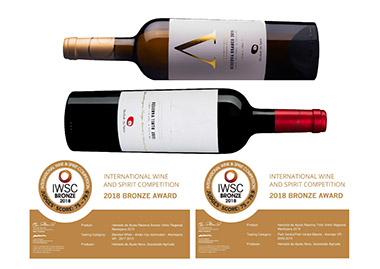 International Wine and Spirit Competition 2018 - Medalha de Bronze